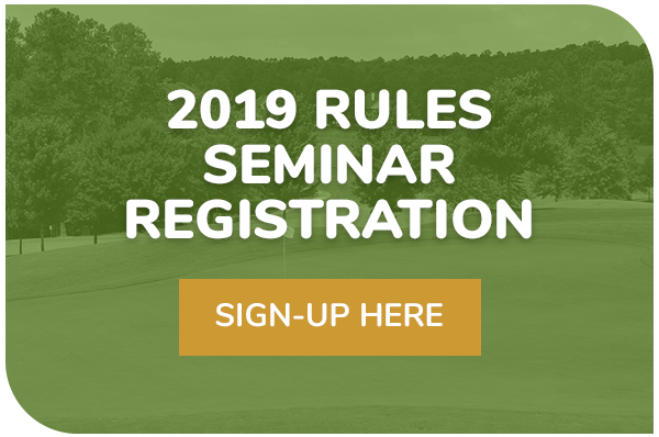 2019 RULES SEMINAR REGISTRATION