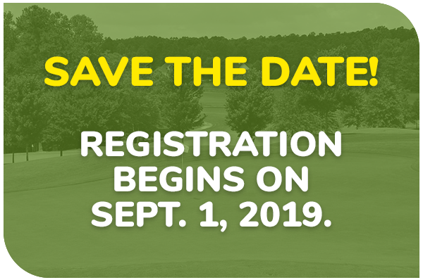 Save the date! Registration begins on September 1, 2019.
