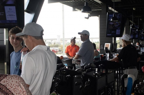 GCJGF Top Golf & Birthday Party for Wayne McKinney