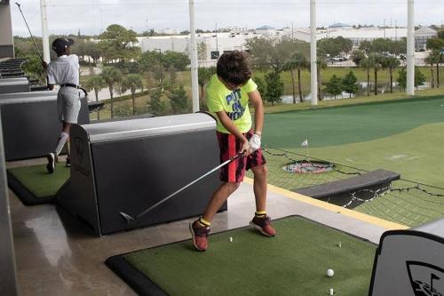 GCJGF Top Golf & Birthday Party for Wayne McKinney